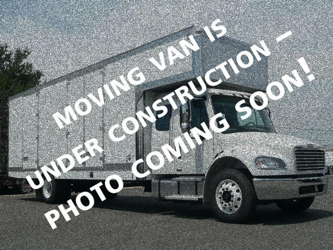 """2023 Hino extended cab L6 with air ride<BR>Limited availability for spring/summer <br>260HP Cummins <br>90 gallon fuel tank<br> Air Brakes<BR>26' Kentucky moving van body<BR>Mirror finished stainless overlays on front radius<BR>Translucent roof with lining<BR>5' attic<BR>12' x 30"""" Melcher walkboard<br>Full spray on undercoating<br>Chassis includes 5 year / 250k mile extended engine warranty<BR>Limited availability for spring/summer"""