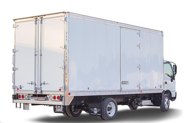 """20' Kentucky mini mover<br>Size of a pack van, built like a moving truck<br>48"""" side doors, one on each side<br>12' Melcher slide out ramp for use on all doors<br>Movers rear frame with flexible steps<br>Perfect for small jobs or as a second truck on a job<br>Available in spring of 2021"""