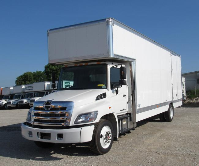 """2022 Hino model L6 with air ride<br>260HP Cummins<br>90 gallon fuel tank<br> Air Brakes<BR>26' Kentucky moving van body<BR>Mirror finished stainless overlays on front radius<BR>Translucent roof with lining<BR>5' attic<BR>12' x 30"""" Melcher walkboard<br>Full spray on undercoating<br>Late fall delivery, reserve a build slot now."""