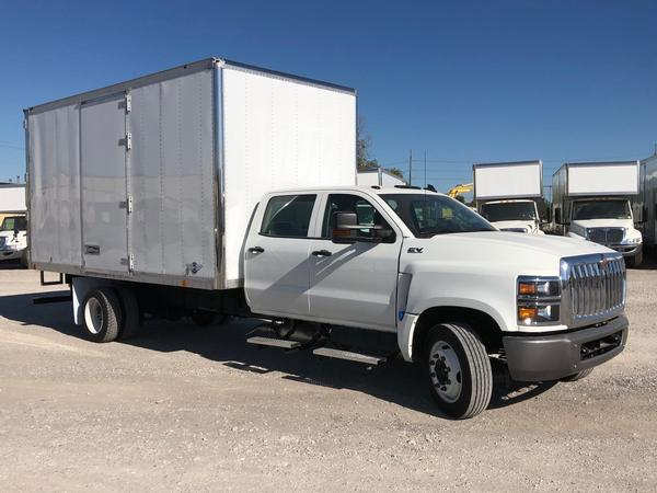 All new International CV crew cab<br>