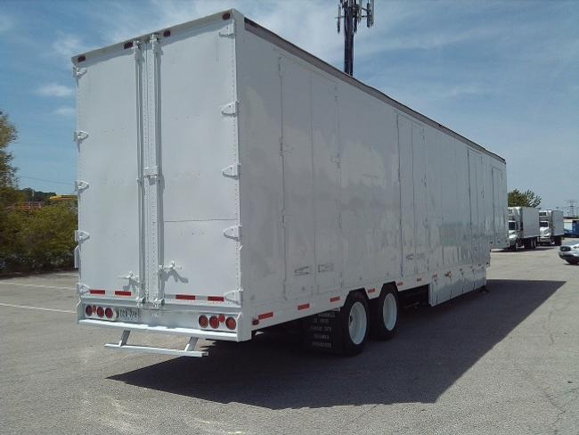 Kentucky 52' Moving Van, 3-4 Pair Of Curb Side Doors, Large 8' Double Street Side Doors. LowPro 255 70.22.5 Budds, Storage Boxes DOT Inspected And Ready To Go. Several To Choose From. Located In Saint Louis And Kansas City. Priced From $16,500  Years From 1996. Some Completely Refurbished With New Paint. Priced Accordingly. Please Call And