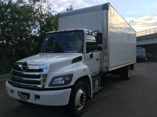 2016. Isuzu. NPR. Diesel Engine Automatic Trans Power Window Power Lock Cruise Control 60k Miles 16' Box With Side Door Liftgate Immaculate Condition 718-781-7254