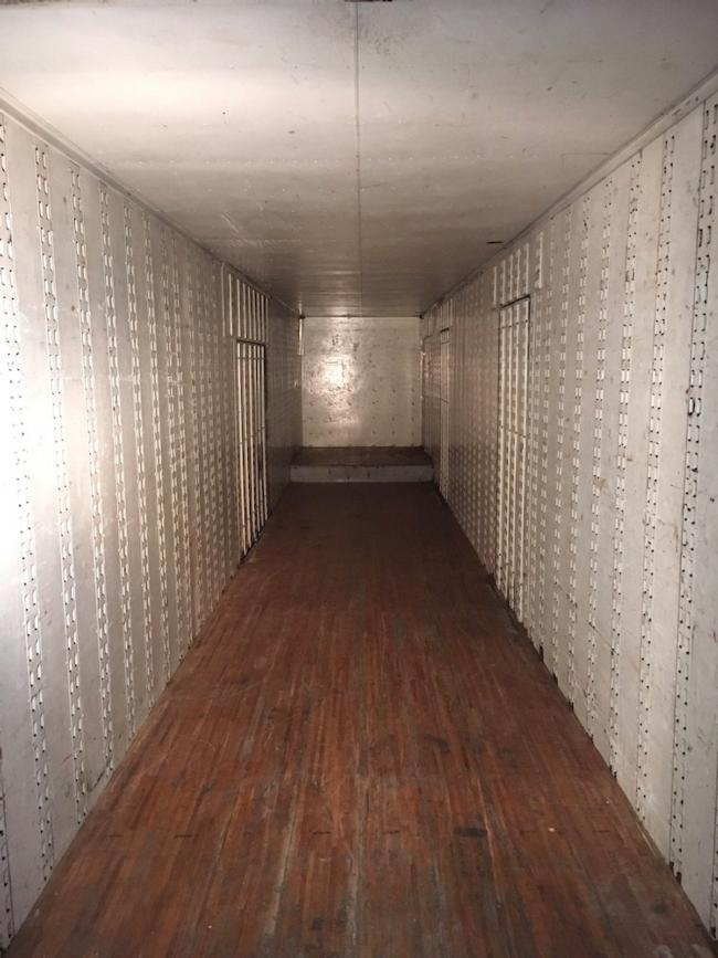 1996 50' Single Drop Deck Moving Trailer. Solid Great Dane Construction. Large Door Road Side And 3 Doors Curb Side. Belly Boxes. Logistics Anchors. Trailer Is Inspected Until April 2020. Wood Floor In Good Condition Apart Of Right Side On Goose Neck. Located In Norfolk Virginia. Good Storage Trailer Or Fixer Upper. US$5500 OBO. Call Yves On 514